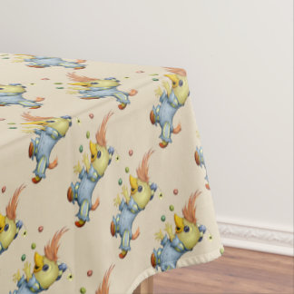 "BABY RIUS CARTOON Tablecloth COLOR LIPS 52""x70"""