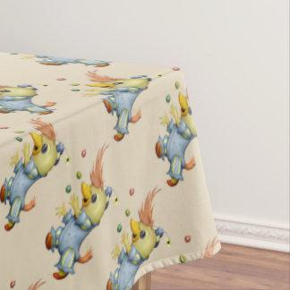 "BABY RIUS CARTOON Tablecloth COLOR LIPS 60""x 84"""