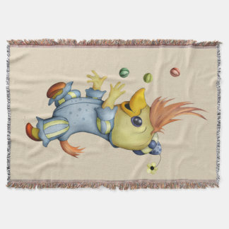 BABY RIUS  CARTOON Throw Blanket