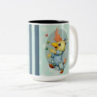 BABY RIUS CARTOON Two-Tone Mug