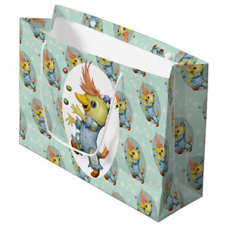 BABY RIUS CUTE CARTOON GIFT BAG LARGE