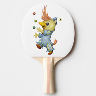 BABY RIUS  Ping Pong Paddle, RED Rubber Back Ping Pong Paddle