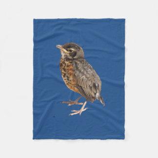 Baby Robin Fleece Blanket