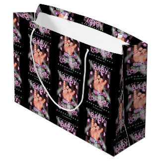 BABY ROCK CONCERT GIFT BAG LARGE GLOSSY
