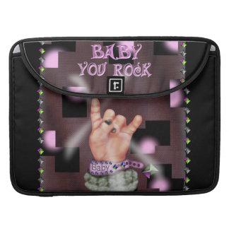 """BABY ROCK MUSIC  Macbook Pro 15"""" Rickshaw MacbookS Sleeve For MacBooks"""