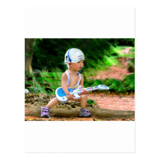 Baby Rock Star Postcard