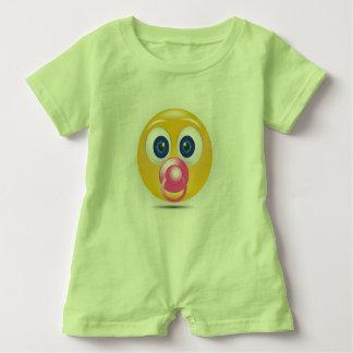 Baby Romper Green Baby Bodysuit