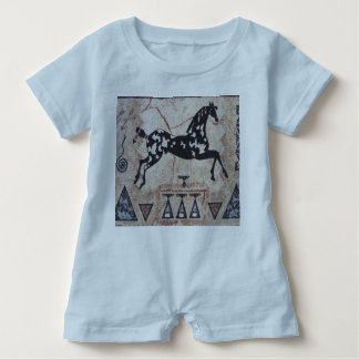 Baby Romper--Indian Pony Baby Bodysuit