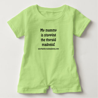 BABY ROMPER! Stopping the Thyroid Madness! Baby Bodysuit
