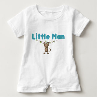 Baby Romper with monkey.
