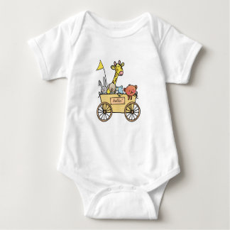 Baby rompertje with bolderwagen full cuddling baby bodysuit
