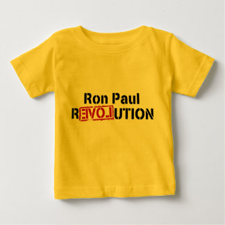 baby Ron Paul Revolution Baby T-Shirt