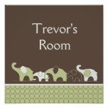 Baby Room Elephant Poster