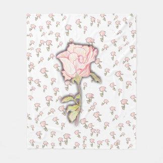 Baby Rose Fleece Blanket