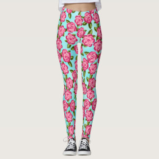 Baby Roses Printed Leggings