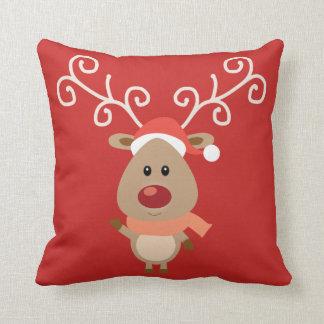 Baby Rudolph Cushion