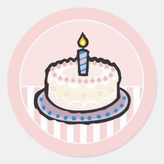 Baby s 1st Birthday Party Invitation Stickers