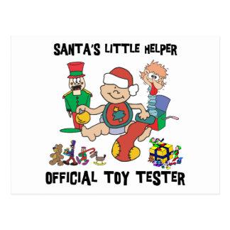 Baby s 1st Christmas Santa s Little Helper Gift Postcard
