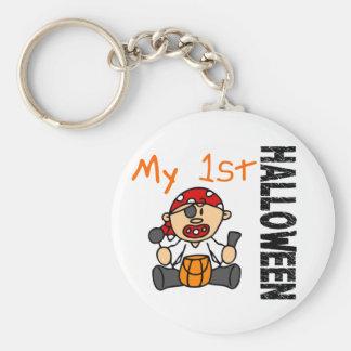 Baby s 1st Halloween Pirate BOY Keychains