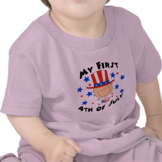Baby s First 4th of July T Shirts
