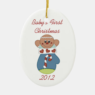 Baby s First Christmas Gingerbread Baby Ornament