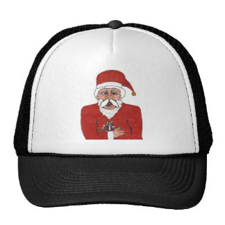 Baby s First Christmas Trucker Hats