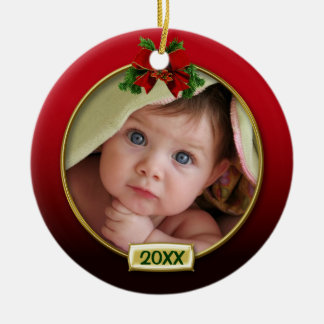 Baby s First Christmas Photo Frame Ornament
