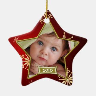 Baby s First Christmas Photo Frame Christmas Ornament