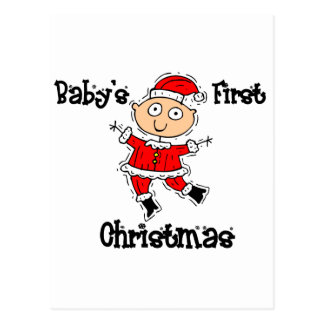 Baby s First Christmas Post Cards