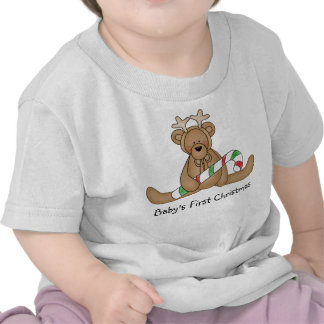 Baby s first Christmas t-shirt