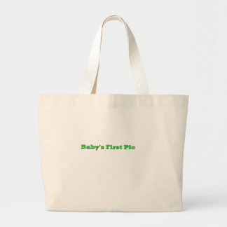 Baby s First Picture The MUSEUM Zazzle Gifts Tote Bags