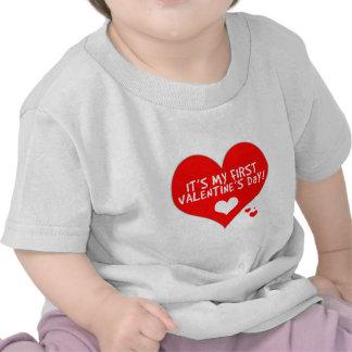 Baby s First Valentine s Day Shirt