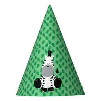 Baby Safari Animals Party | Zebra Party Hat