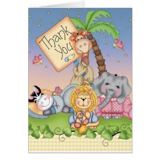Baby Safari Card