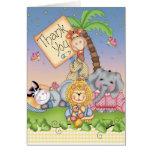 Baby Safari Greeting Cards