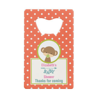 Baby Safari Monkey with Pacifier Shower