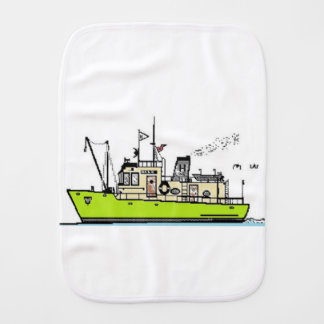 Baby Sailor Burp Cloth