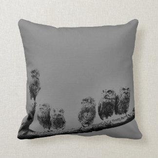 Baby Screech Owls American MoJo Pillow Throw Cushion