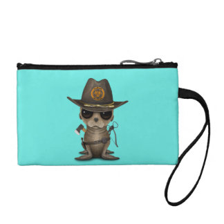 Baby Sea lion Zombie Hunter Coin Purse