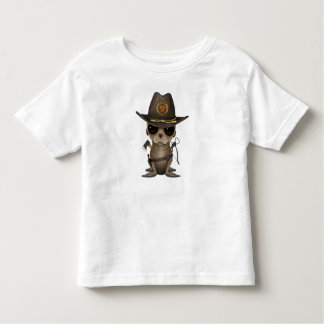 Baby Sea lion Zombie Hunter Toddler T-Shirt