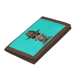 Baby Sea lion Zombie Hunter Trifold Wallet