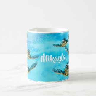 Baby Sea Turtles Swimming Coffee Mug