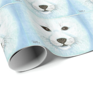 BABY SEAL PUP WRAPPING PAPER