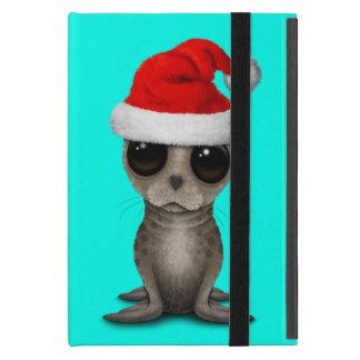 Baby Seal Wearing a Santa Hat iPad Mini Cover