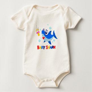 Baby Shark Baby American Apparel Organic Bodysuit