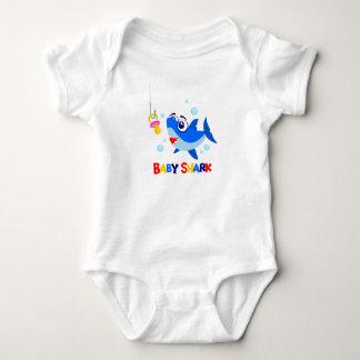 Baby Shark Baby Jersey Bodysuit