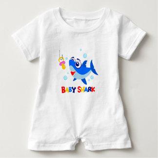 Baby Shark Baby Romper Baby Bodysuit