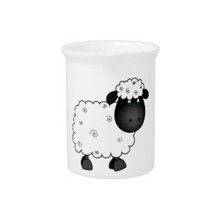 Baby Sheep For Ewe Pitcher
