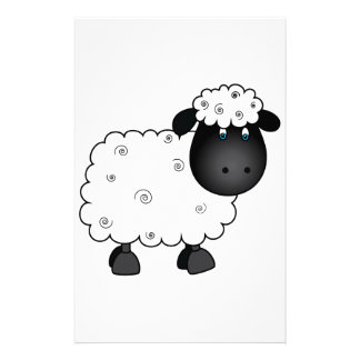 Baby Sheep For Ewe Stationery