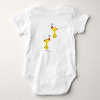 Baby shirt-baby buddha foot(s)-404 baby bodysuit